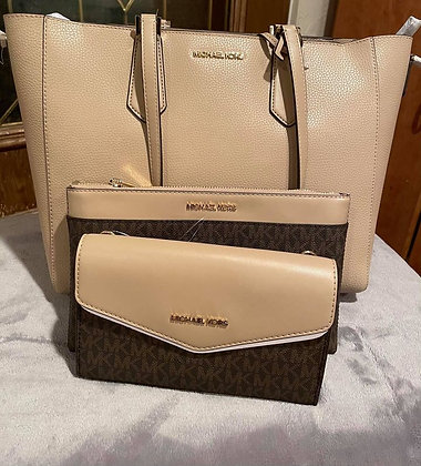 02 Michael Kors purse, clutch and wallet
