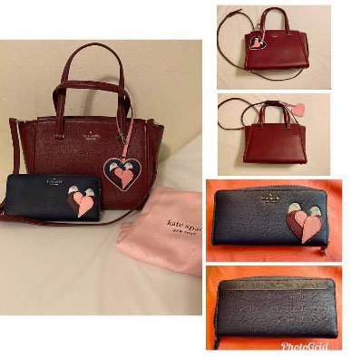 01 Kate Spade purse and wallet