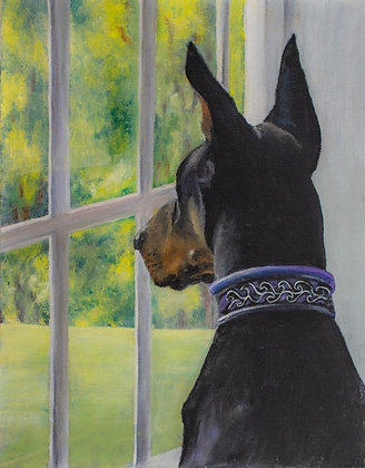 Oil Painting of Your Favorite Pet