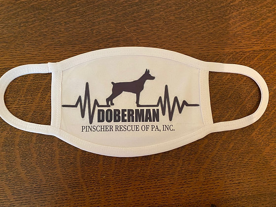 Doberman Heartbeat Mask