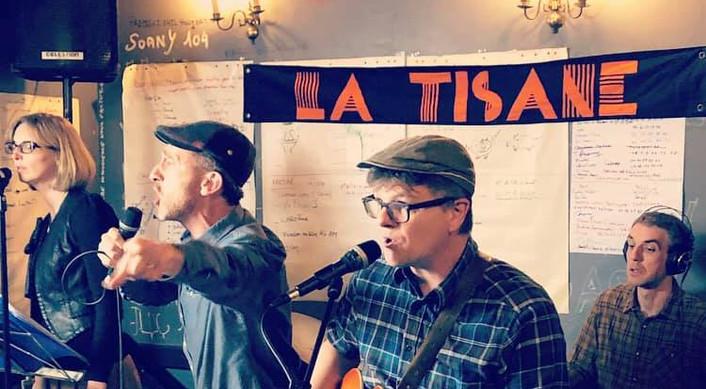 La Tisane concert sortie album Herbes Fo