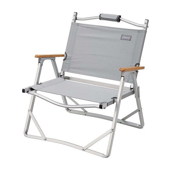 COLEMAN COMPACT FOLDING CHAIR GRAY