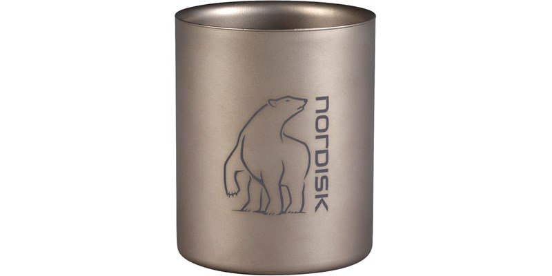 Nordisk Titanium Mug Double-Wall 450ml