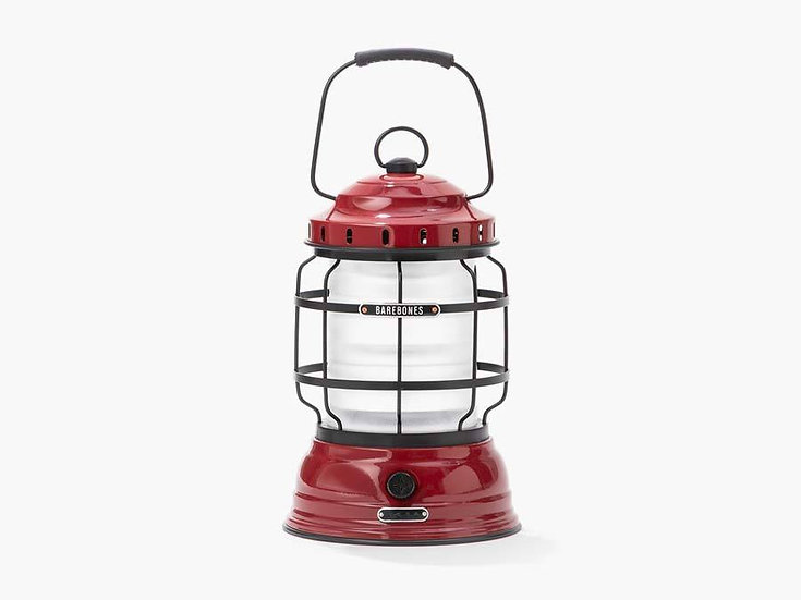 Barebones Forest Lantern - Red