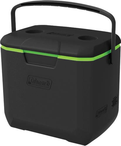 COLEMAN US 30 QT COOLER - BLACK / GREEN