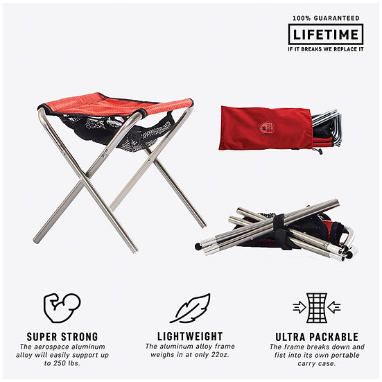 Grand Trunk Collapsible Micro-Stool (CMS)