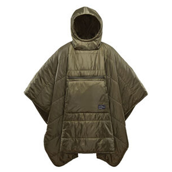 Thermarest Honcho Poncho Olive Blanket