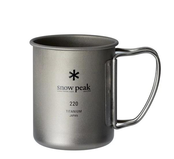 Titanium Single Cup 220