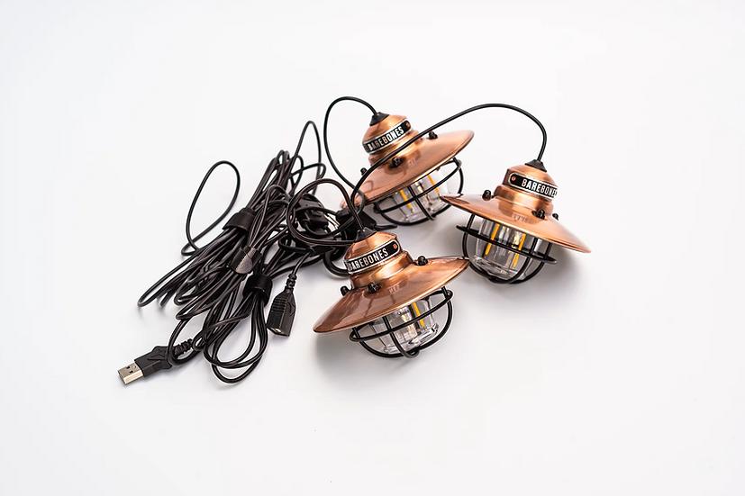 Barebones Edison String Lights Copper