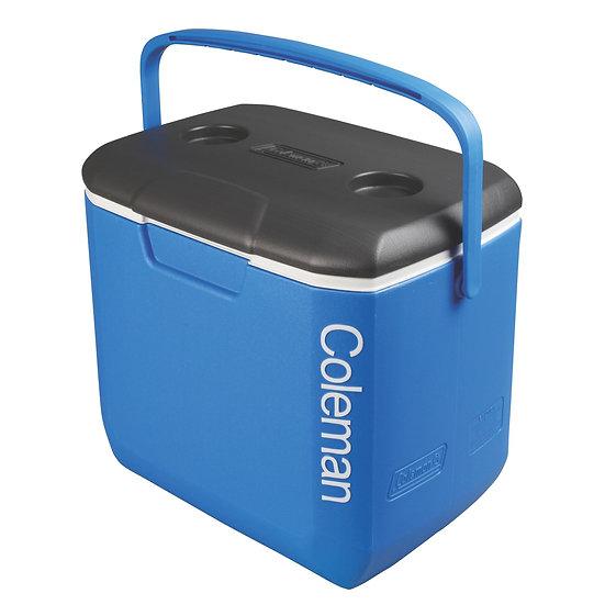 COLEMAN USA Cooler 30 QT Blue & Grey