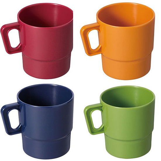 Coleman  Nordic Color Mug 4pc 2000021921