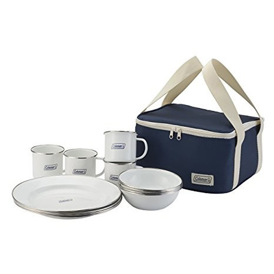 COLEMAN  ENAMEL DISHWARE SET 2000032362