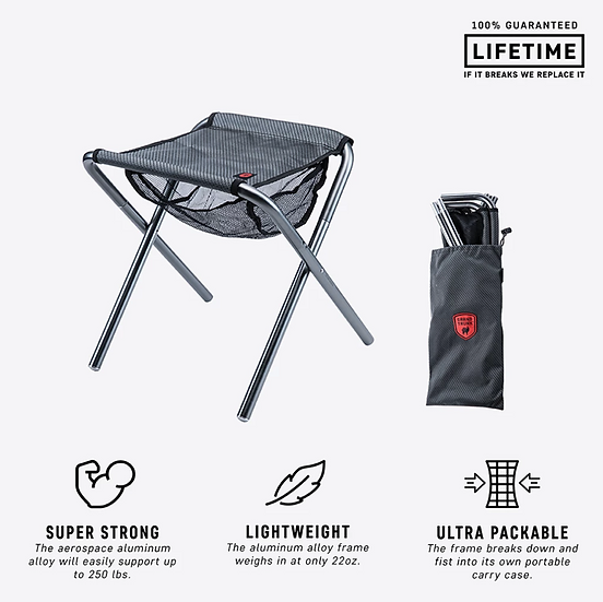 Grand Trunk Collapsible Camp-Stool (CCS)