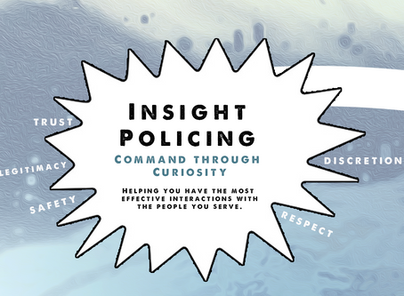 4 take aways from Insight Policing: Core Skills