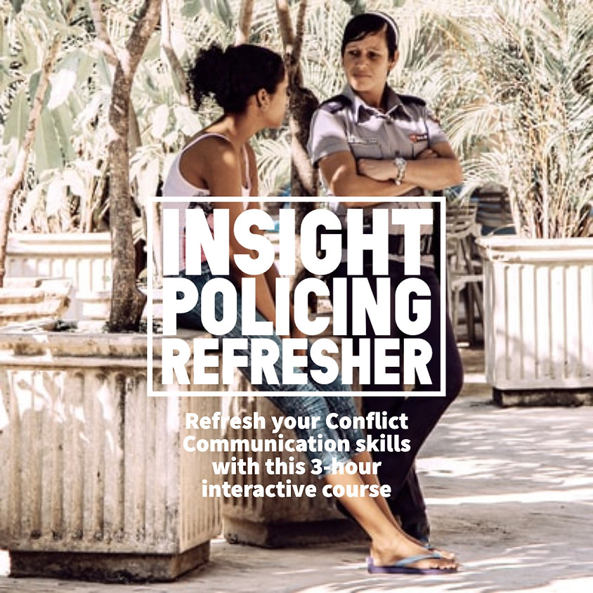 Insight Policing Refresher Course - June 2