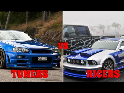 Ricer vs Tuner, The Real Differences
