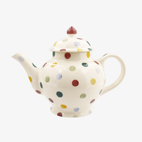 POLKA DOT 4 MUG TEA POT