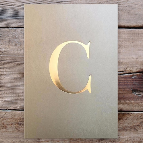 LETTER NOTEBOOK - C