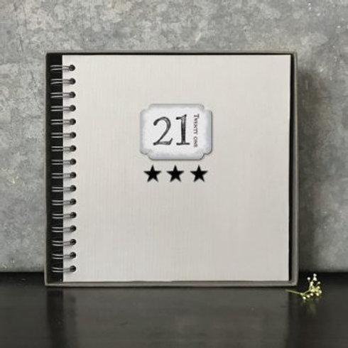 TWENTY ONE - STAR BOOK