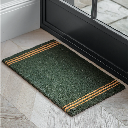 FOREST GREEN DOORMAT - SMALL