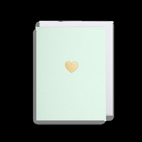 LOVE HEART- MINI CARD