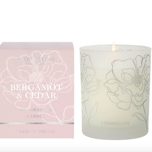 DAY FLOWER - BERGAMOT & CEDAR CANDLE