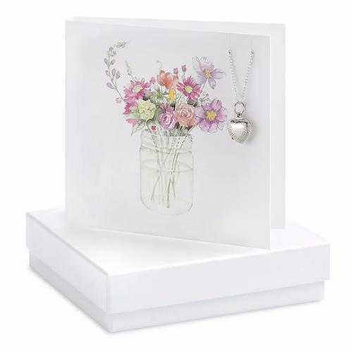 FLOWER NECKLACE CARD