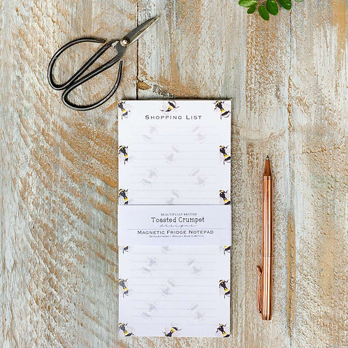 BEE MAGNETIC SHOPPING LIST PAD
