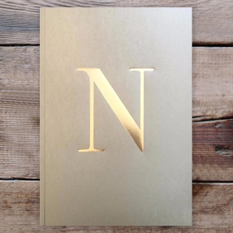 LETTER NOTEBOOK - N