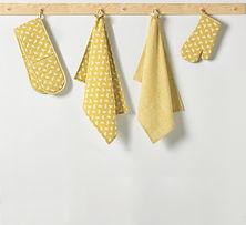 Bee Ochre Kitchen Accessories Lifestyle.