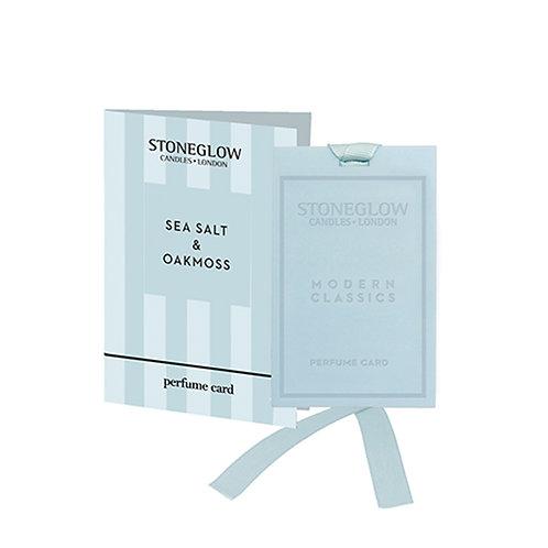 SEA SALT & OAKMOSS PERFUME CARD