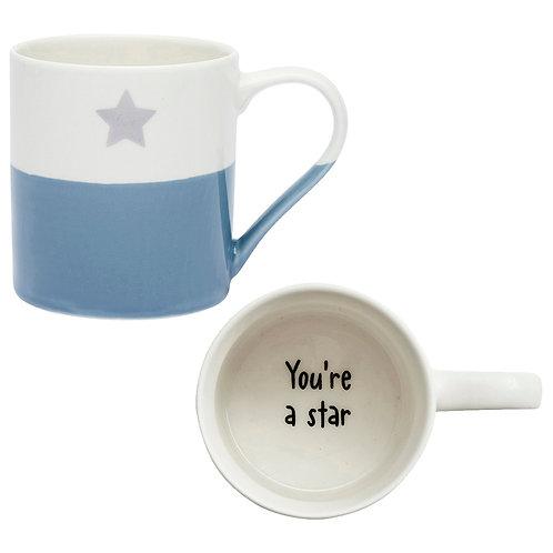 SECRET MESSAGE MUG - YOU'RE A STAR