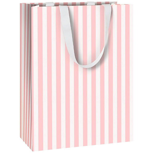 PINK STRIPE GIFT BAG