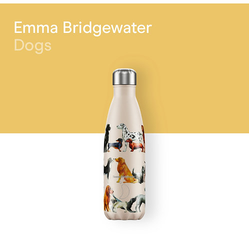 CHILLY'S BOTTLE - EMMA BRIDGEWATER DOGS