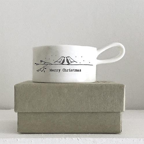 HANDLED TEA LIGHT HOLDER