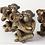 Thumbnail: MONKEY CANDLE HOLDER IN GOLD FINISH