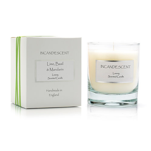 LIME BASIL & MANDARIN LUXURY SCENTED CANDLE