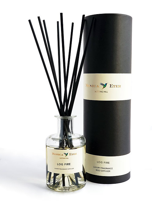 LOG FIRE REED DIFFUSER