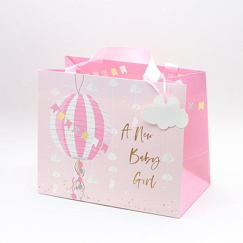 A NEW BABY GIRL - GIFT BAG