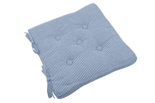AUBERGE SEAT PAD NORDIC BLUE / TIES