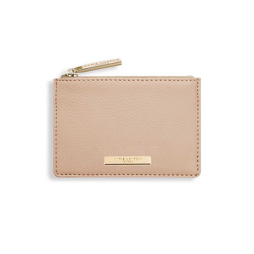 ALISE CARD HOLDER - NUDE