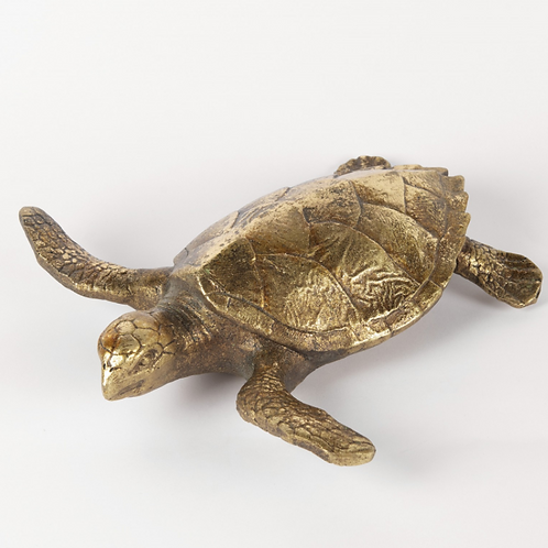 TURTLE IN GOLD FINISH