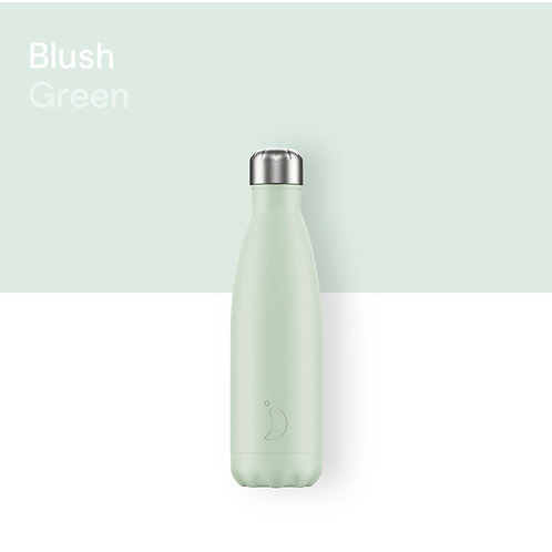 CHILLY'S BOTTLE - BLUSH GREEN