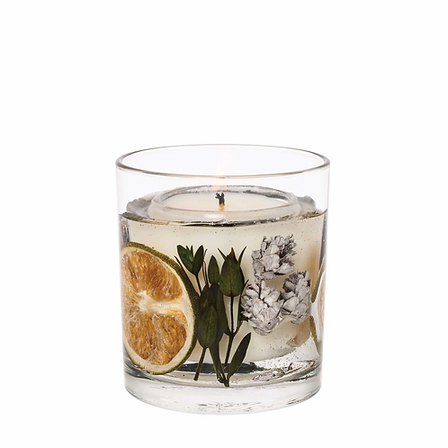 EUCALYPTUS & LIME NATURAL WAX TUMBLER