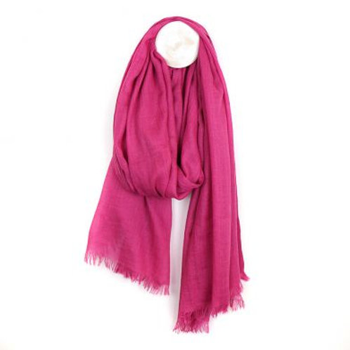 VIBRANT PINK LIGHT WEIGHTSCARF