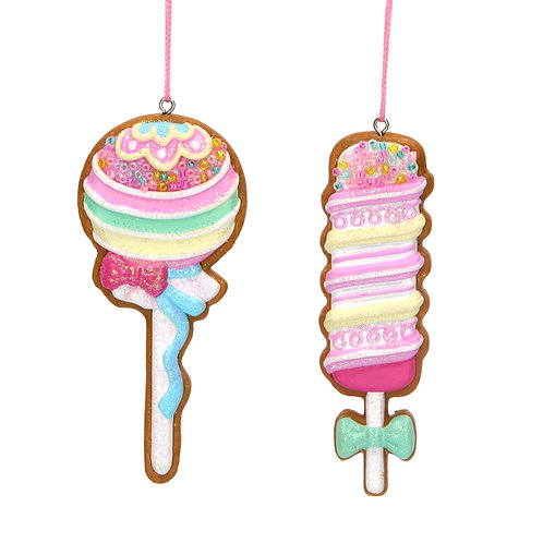 GINGERBREAD ICE LOLLY - TALL OR CIRCLE LOLLY