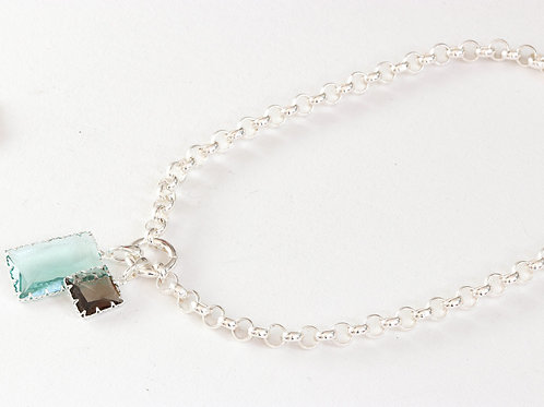 SILVER BELCHER CHAIN NECKLACE