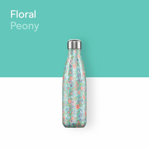 CHILLY'S BOTTLE - FLORAL PEONY