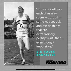 What is your four minute mile?