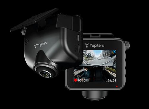360度と後ろもしっかり録画ができるドライブレコーダー